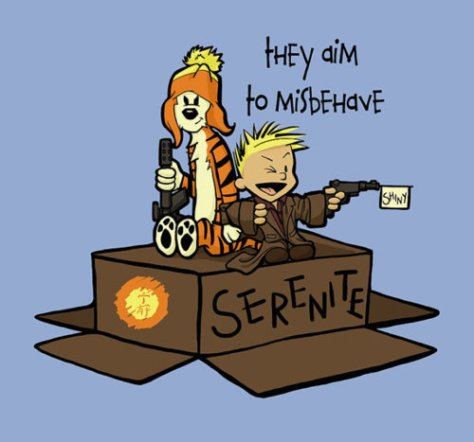 Calvin and Hobbes/Firefly