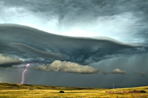 Amazing storm structure from Craig Hilts