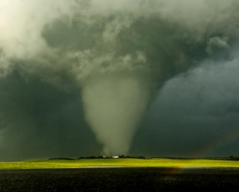 Amazing tornado shot outside of MooseJaw, SK, Canada by Craig Hilts (http://www.prairiefirephoto.com/)