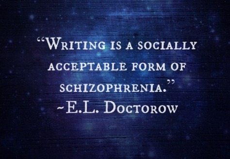 writing schizophrenia